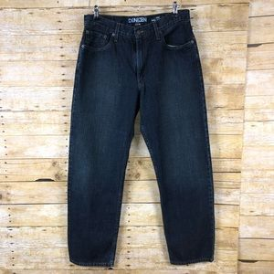 Denizen From Levis Dark Wash Relaxed Fit Jeans